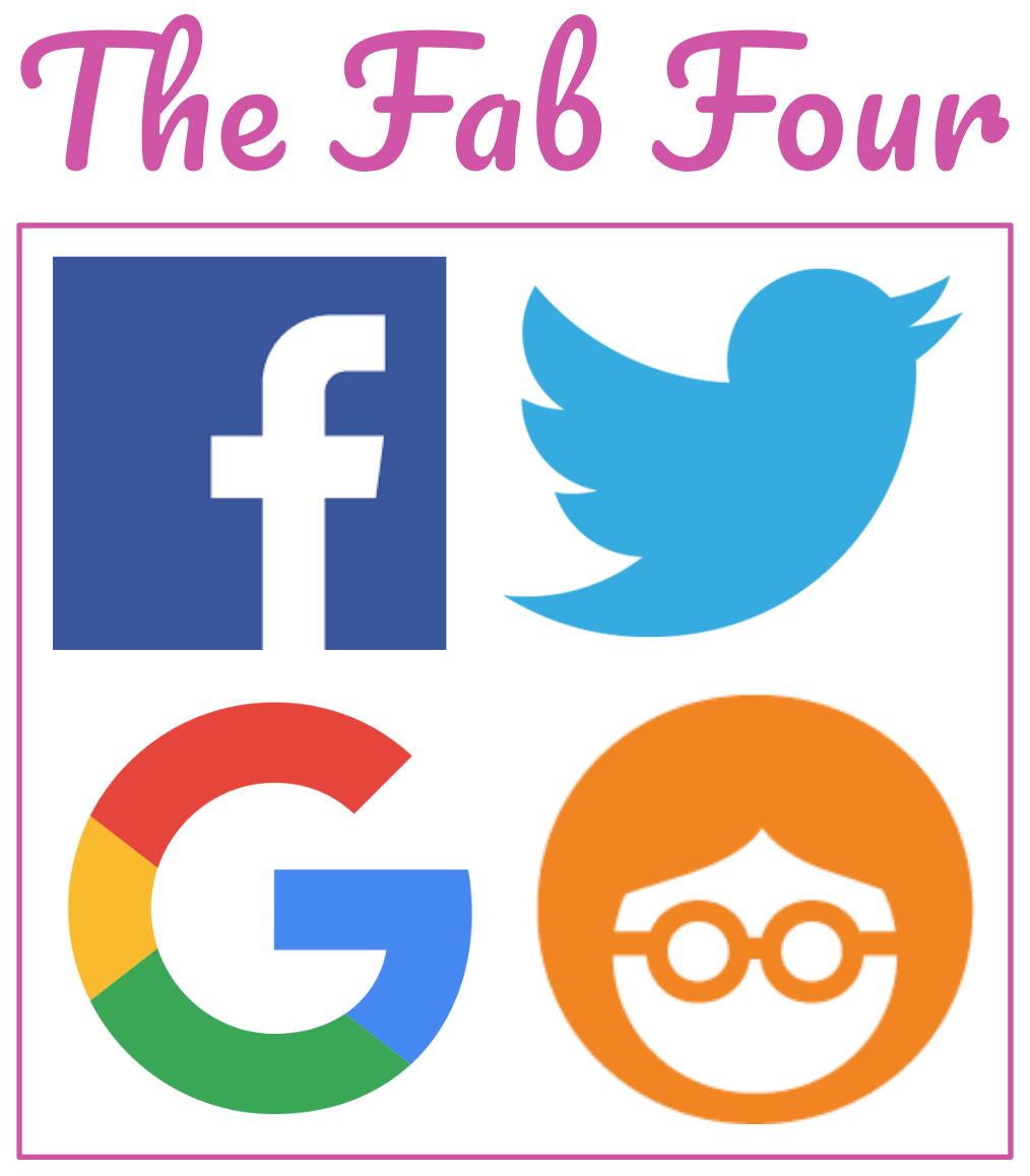 fab four ad networks used for retargeting content ads