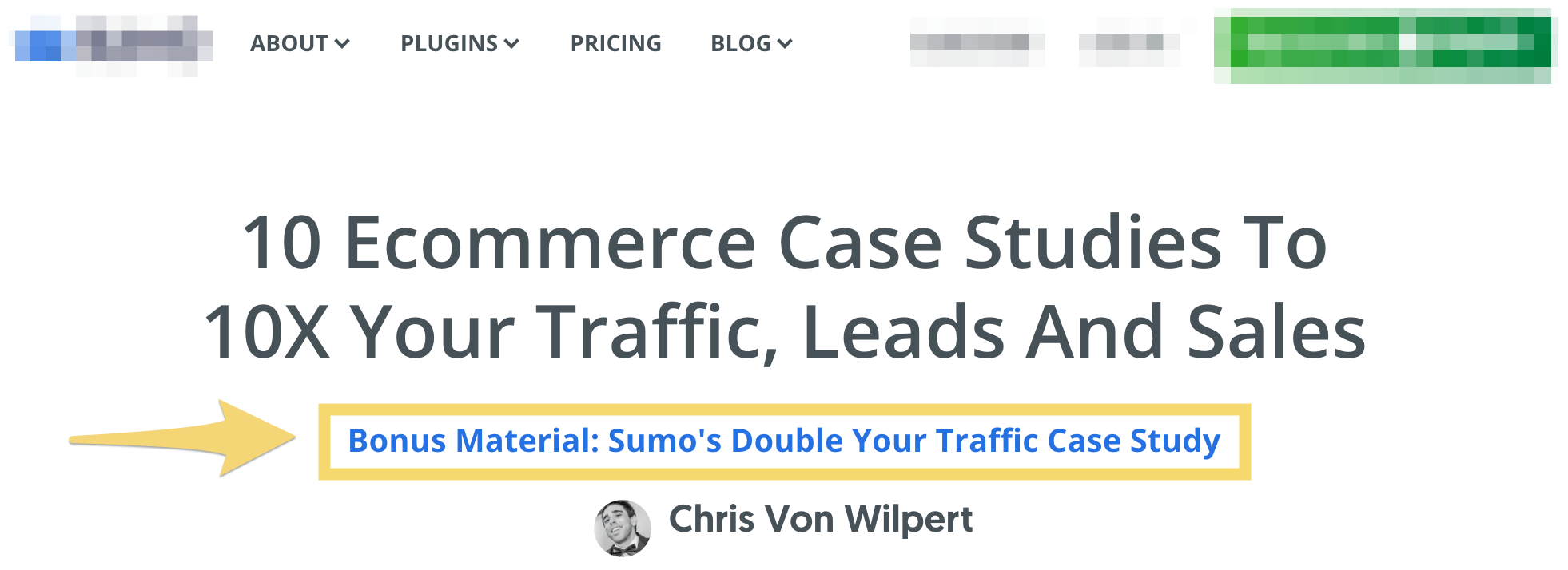 content upgrade ecommerce case studies immage