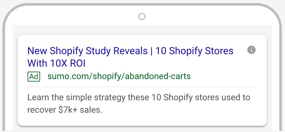 google search ad image