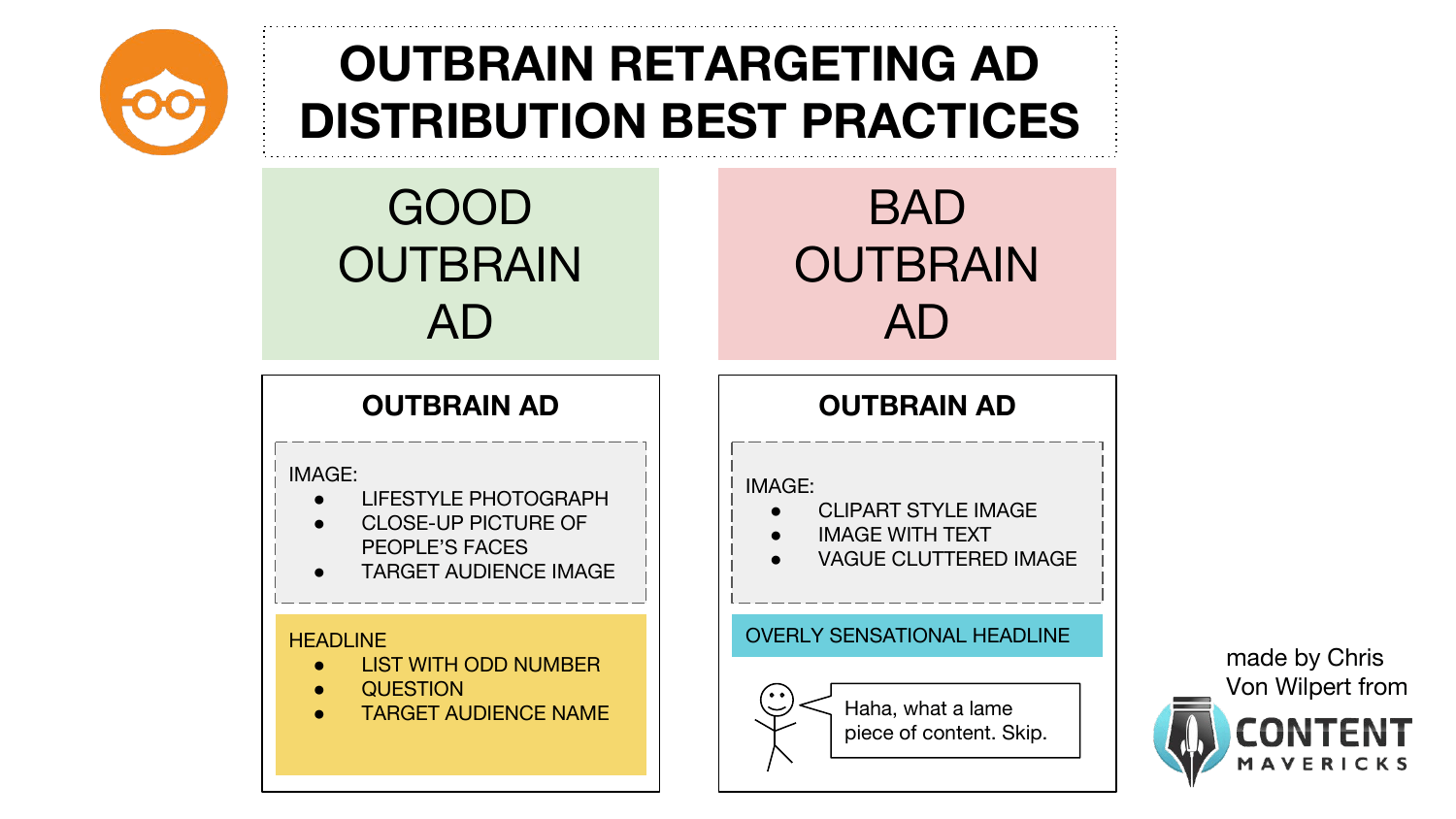 outbrain retargeting ad content distribution best practices image