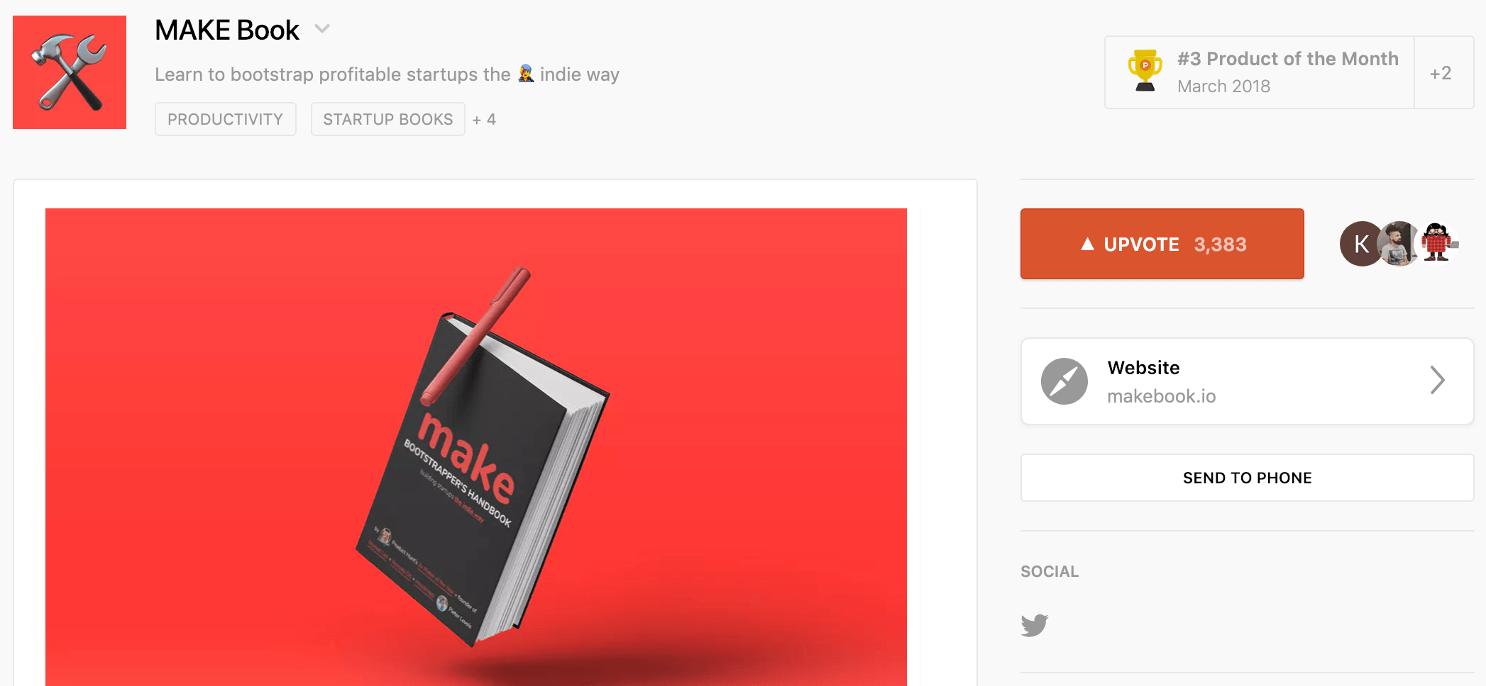 product hunt book image