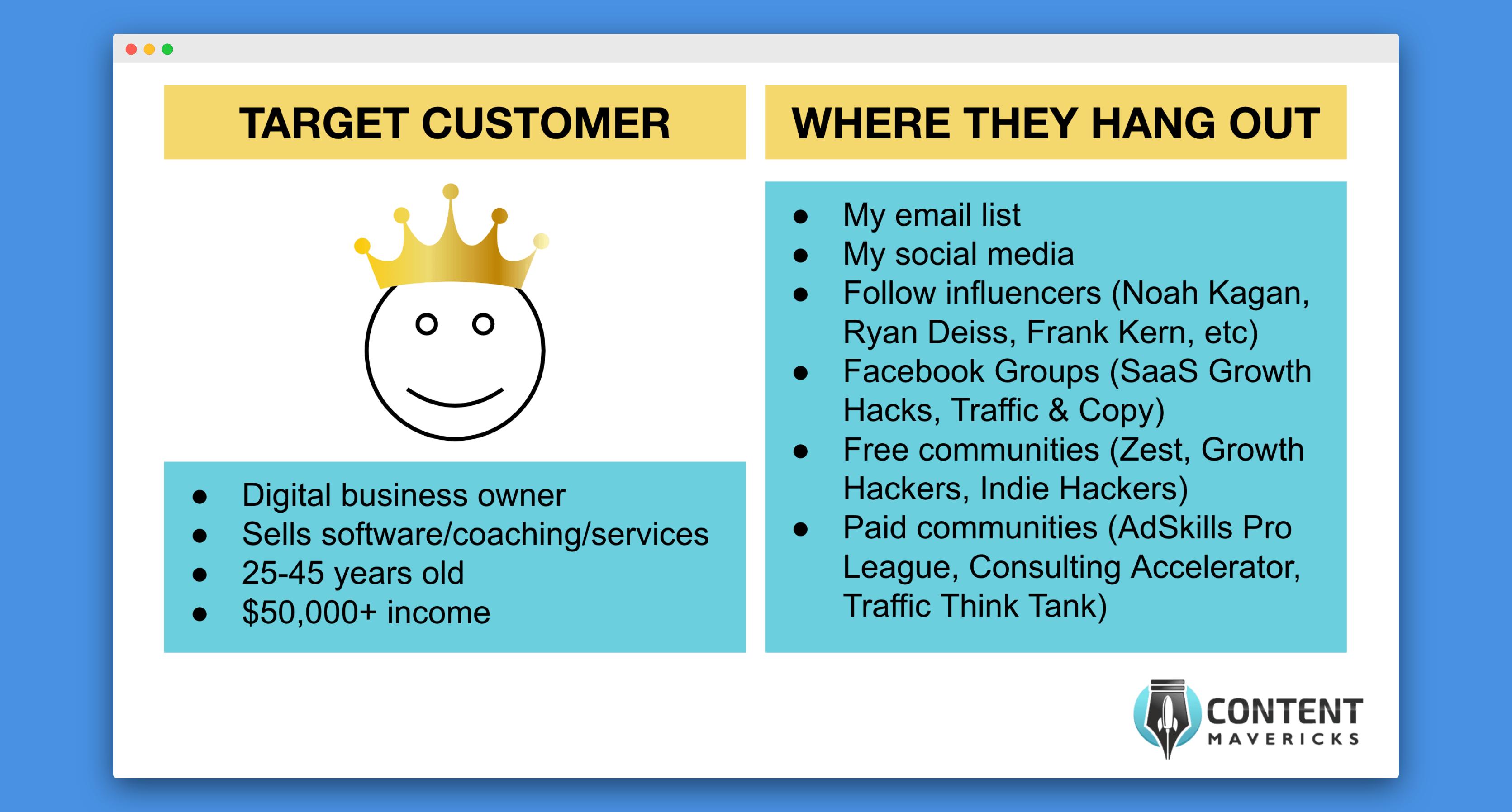 target customer hang outs image
