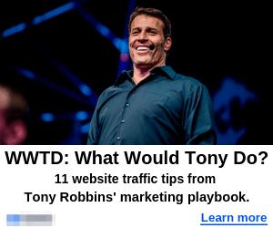 tony robbins gdn ad image