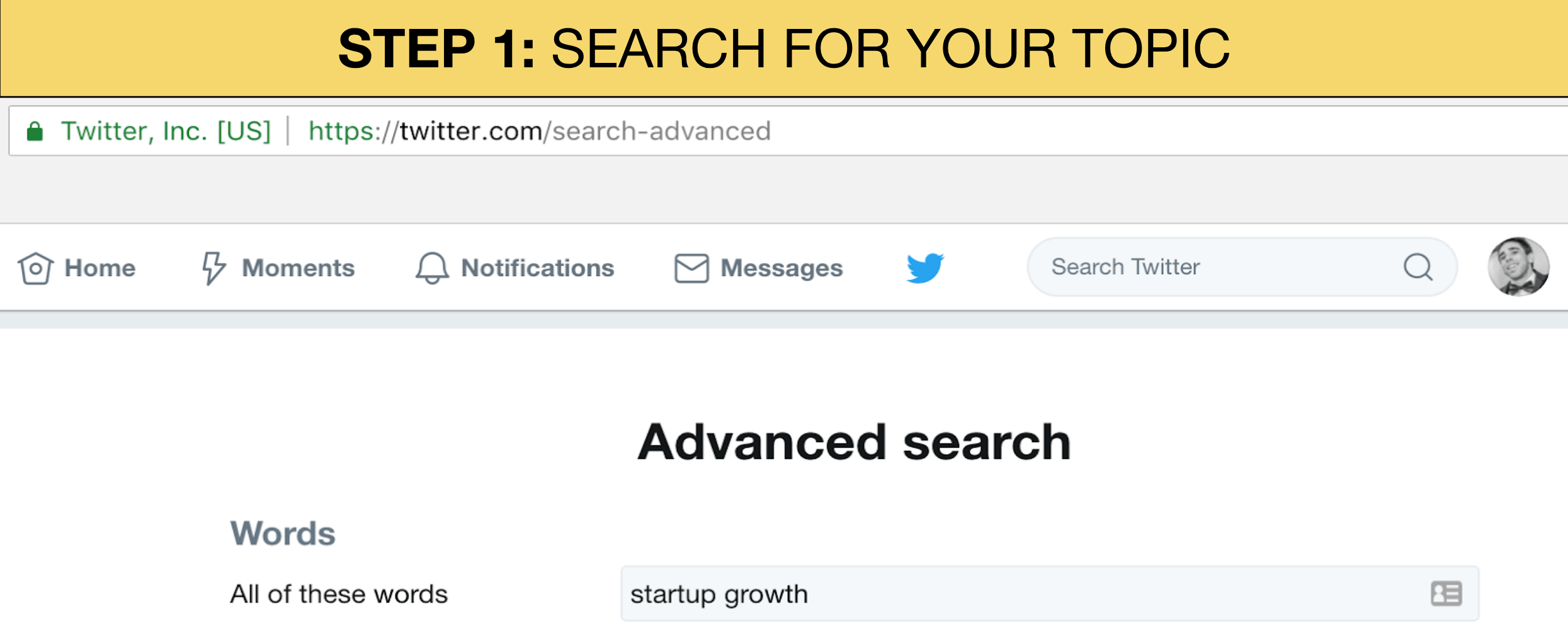 twitter advanced search image