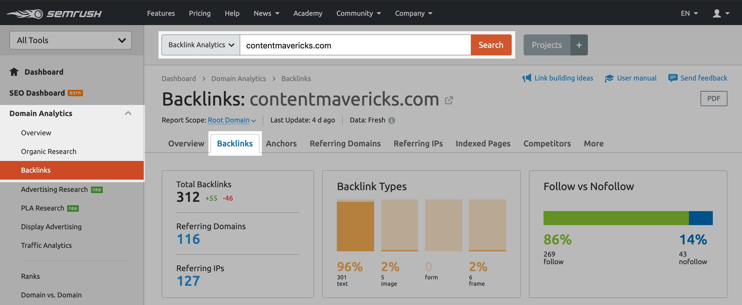 backlinks metrics image