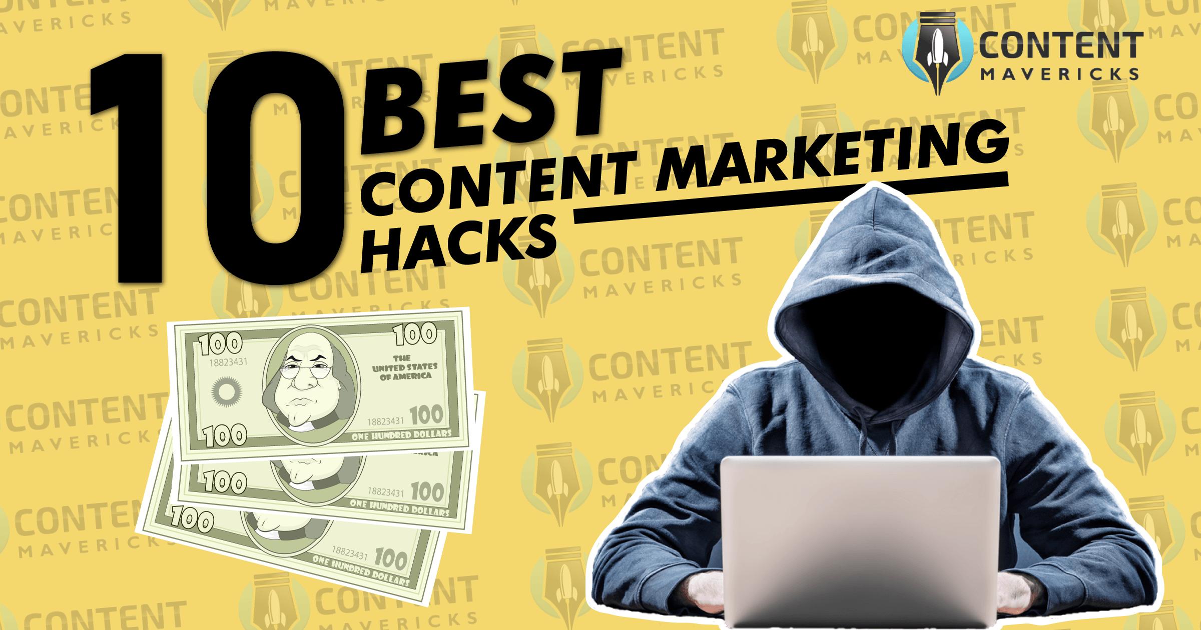 10 Best Content Marketing Hacks Under $100 (That Work In 2019)