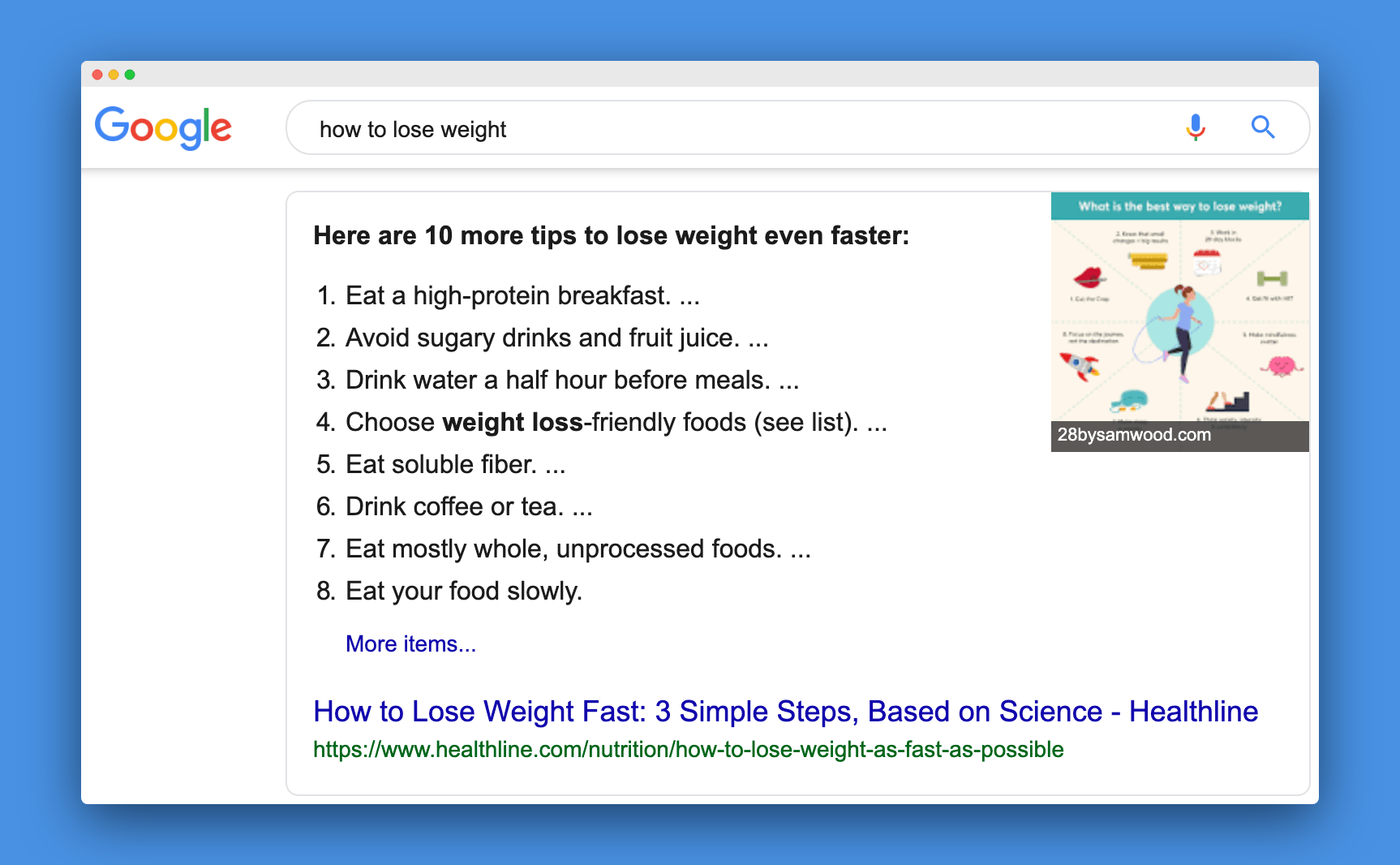 how to lose weight image