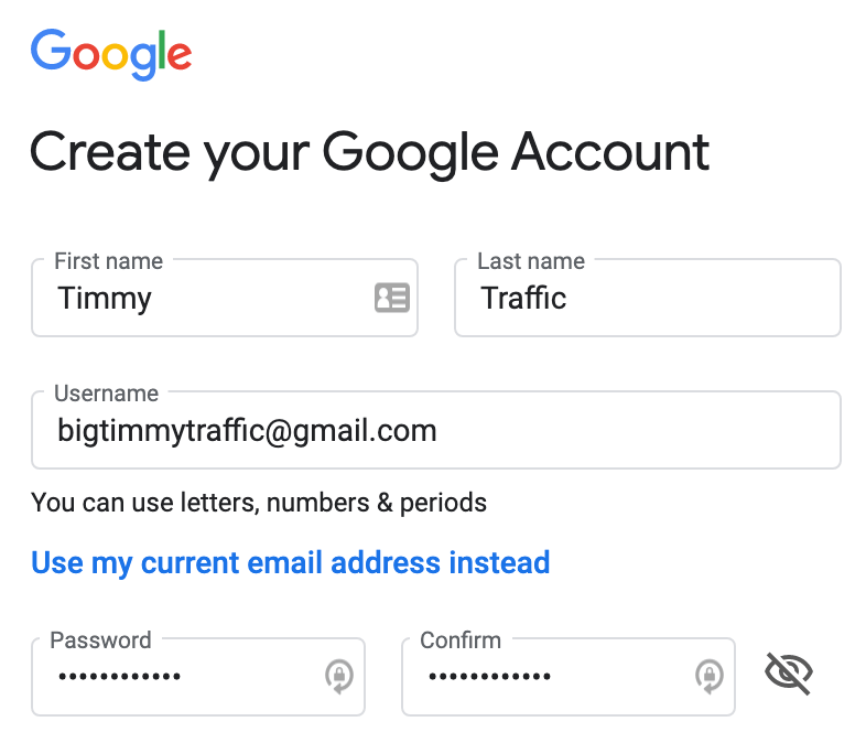 gmail account image