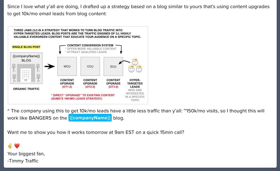 lemlist email 2 diagram image