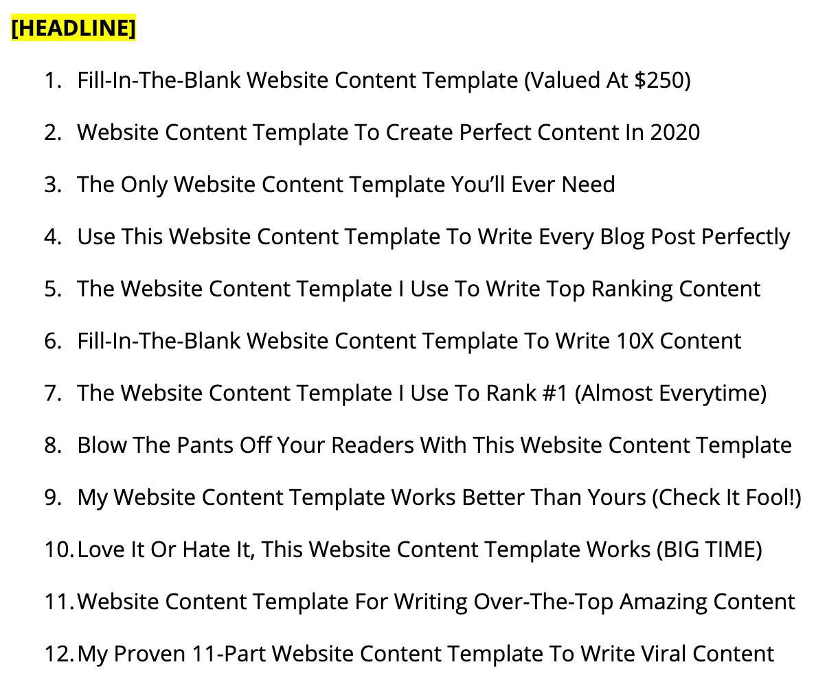 12 headlines image