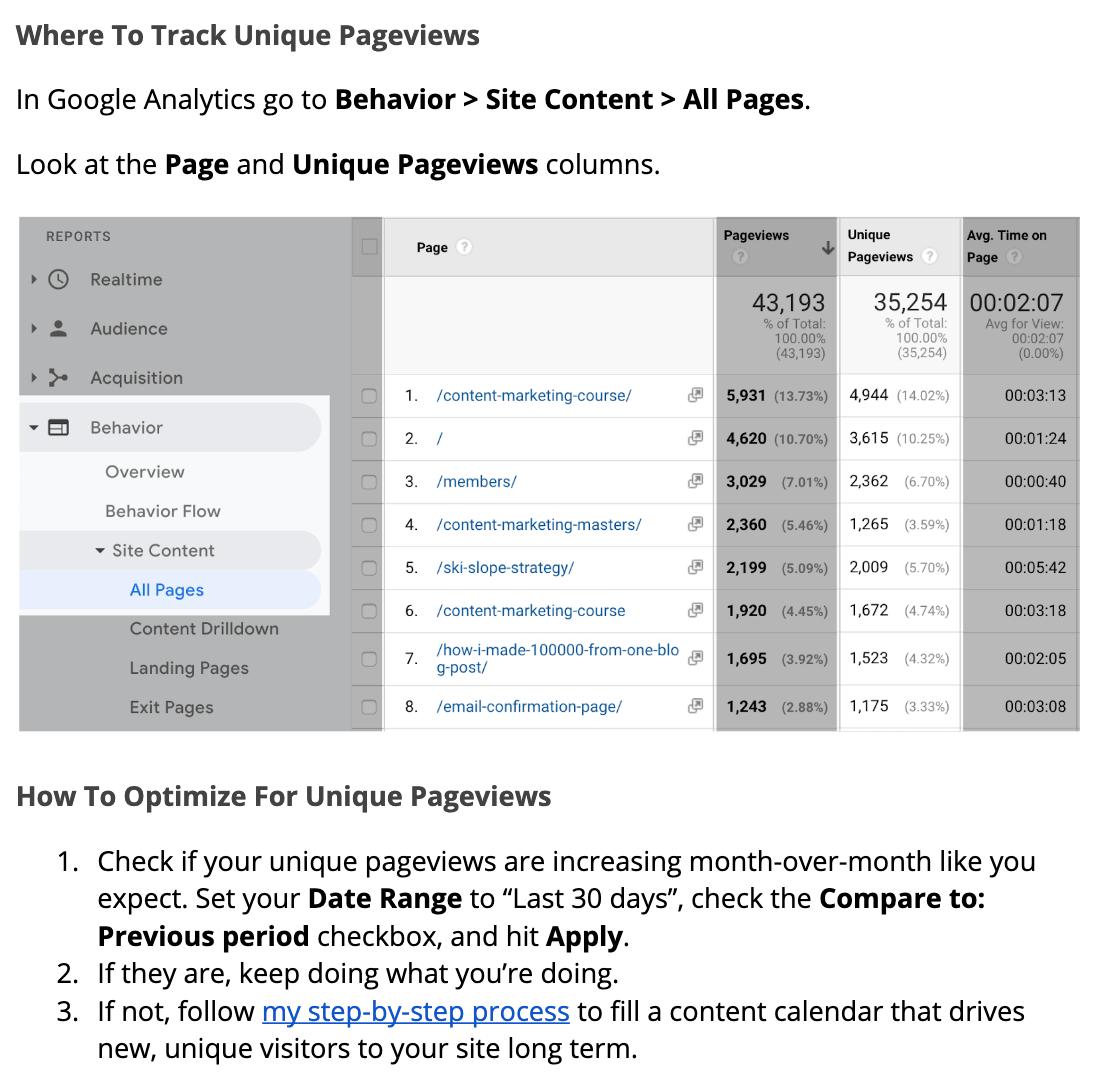 outline unique pageviews image