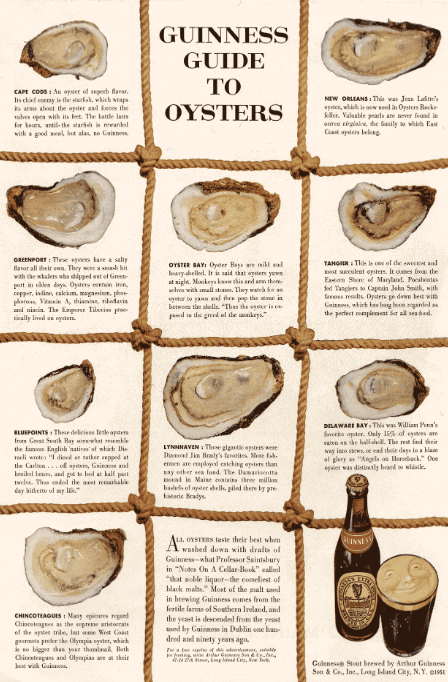 oysters content marketing image