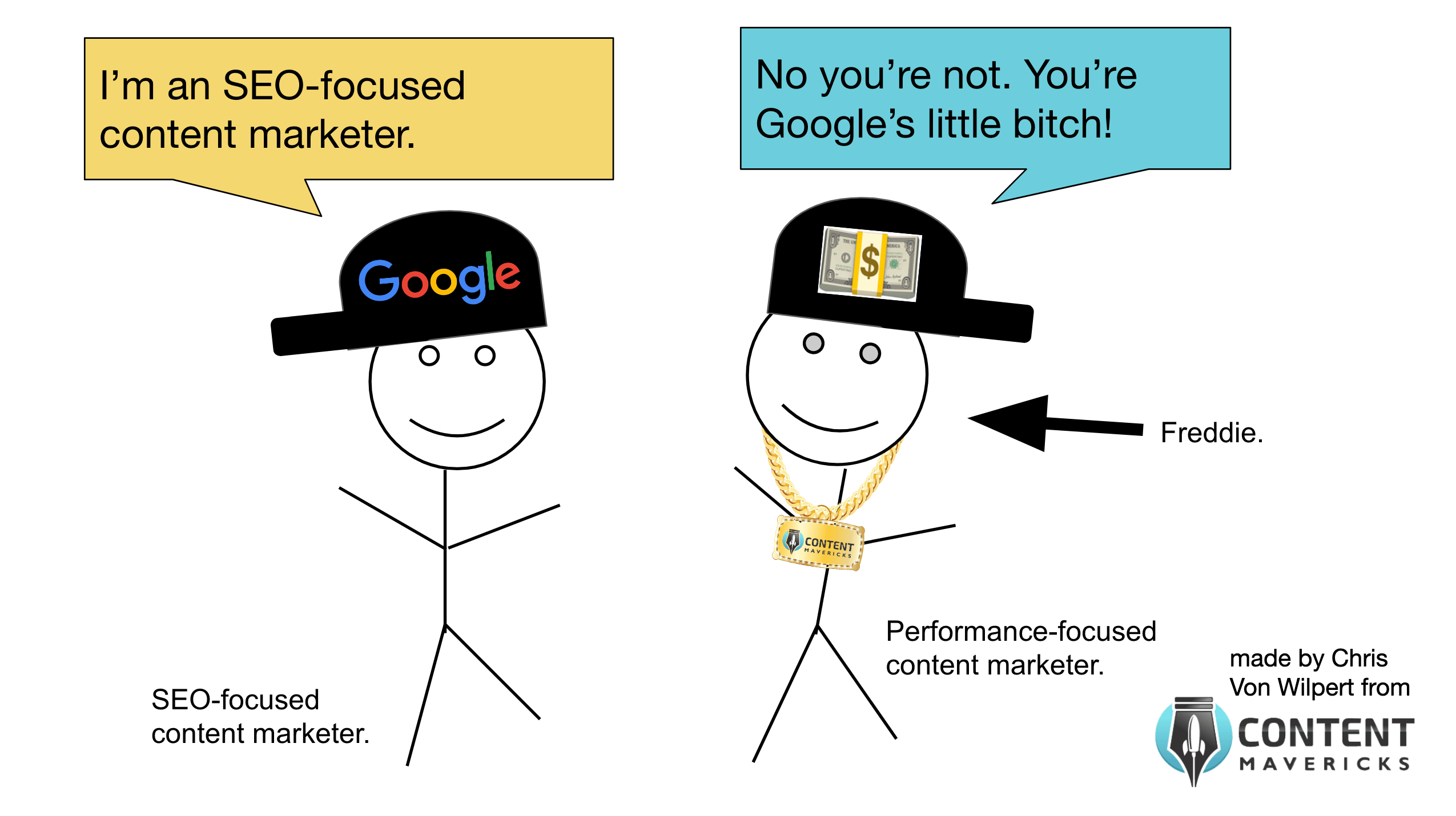 seo focused content marketer image