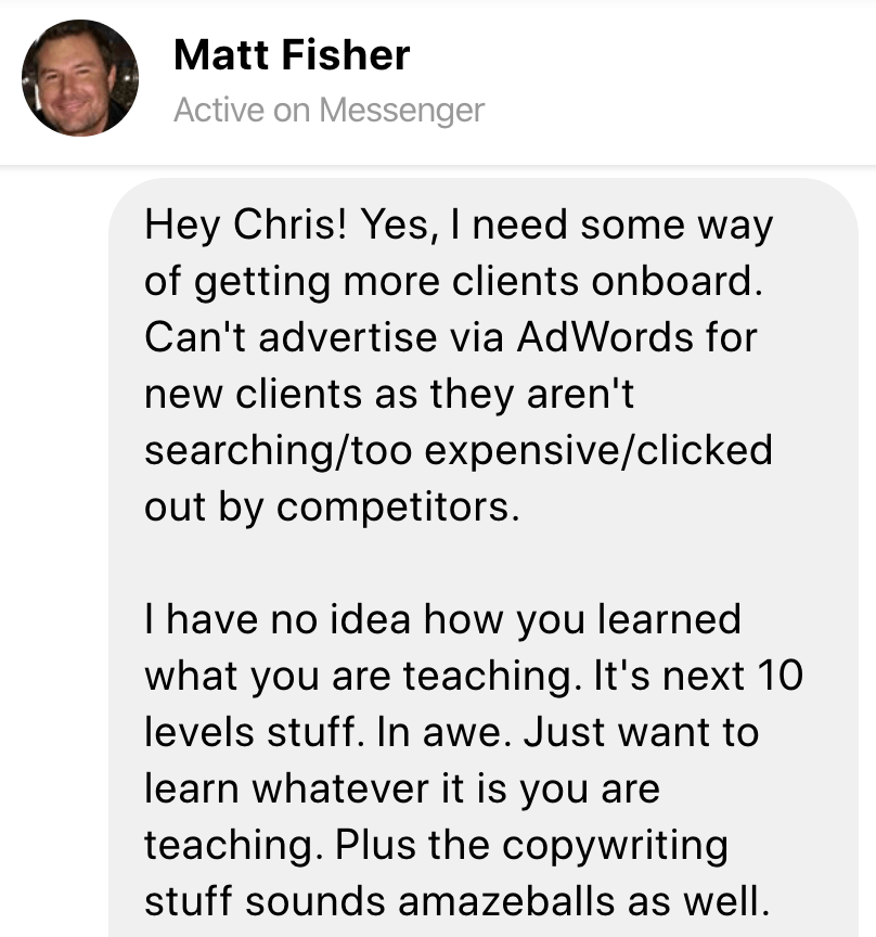 testimonial matt fisher image