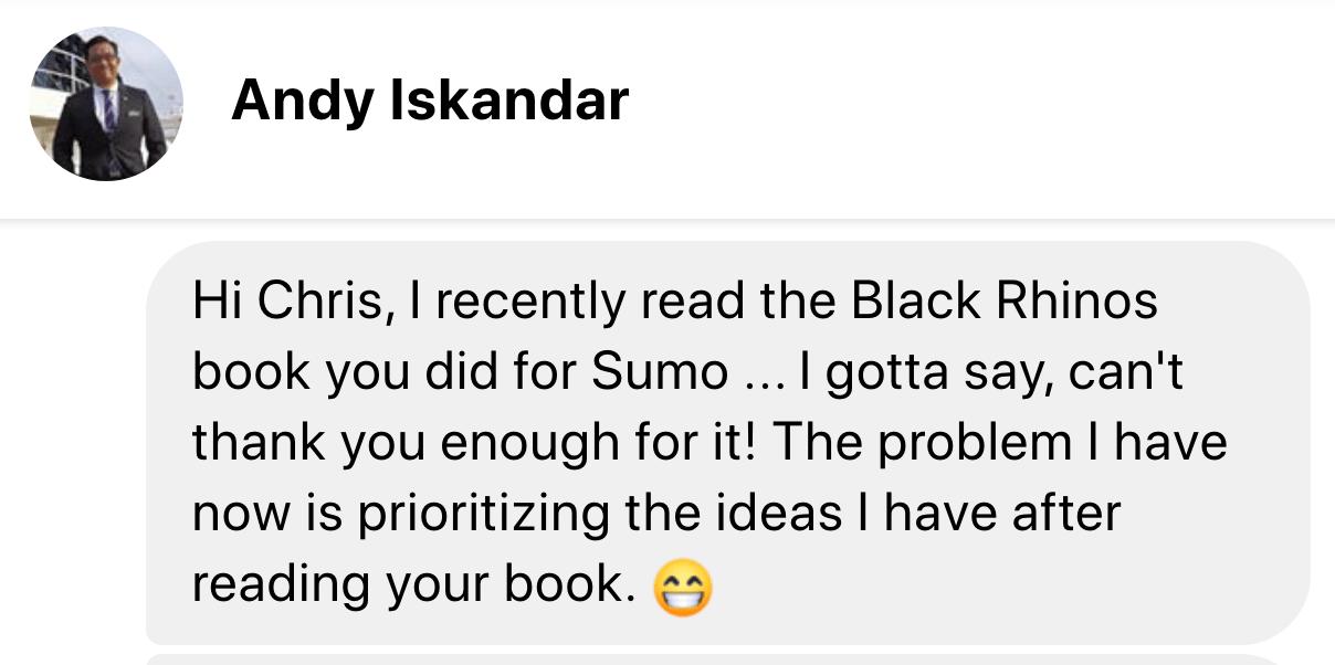 testimonial andy iskandar