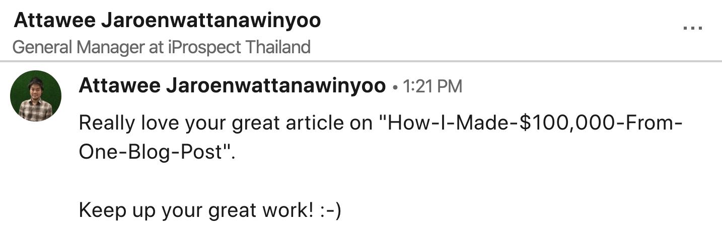 testimonial attawee jaroenwattanawinyoo
