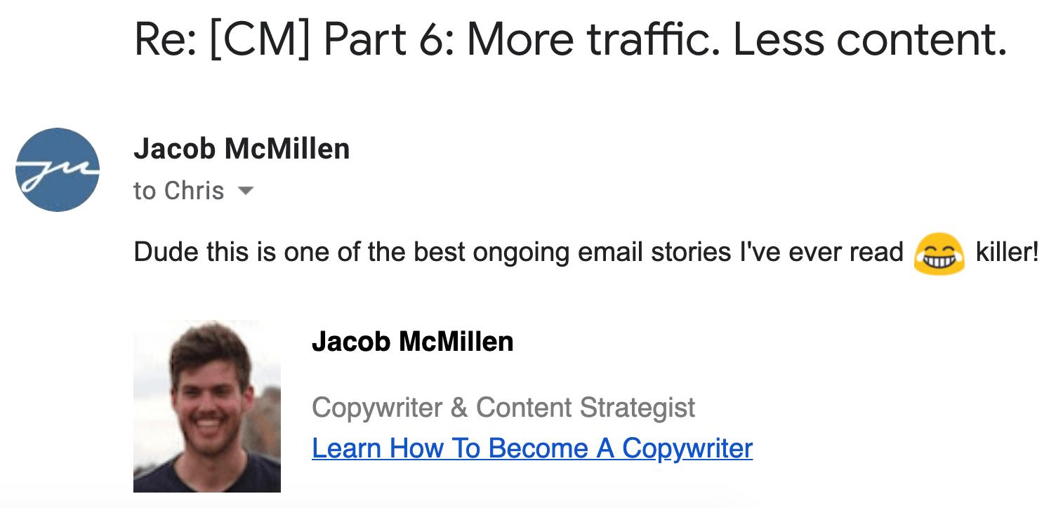 testimonial jacob mcmillen