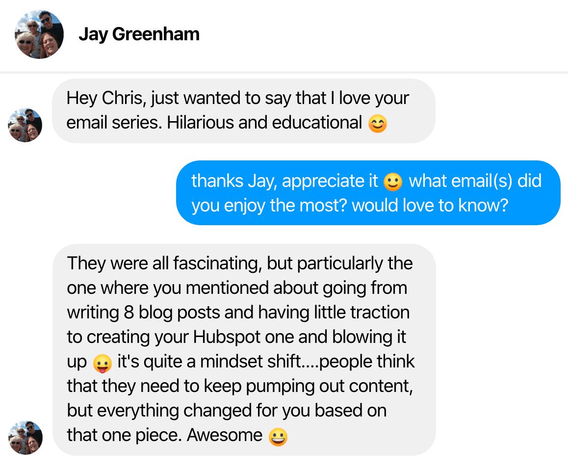 testimonial jay greenham