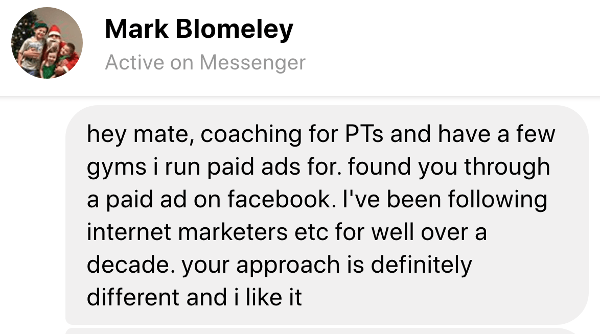 testimonial mark blomeley
